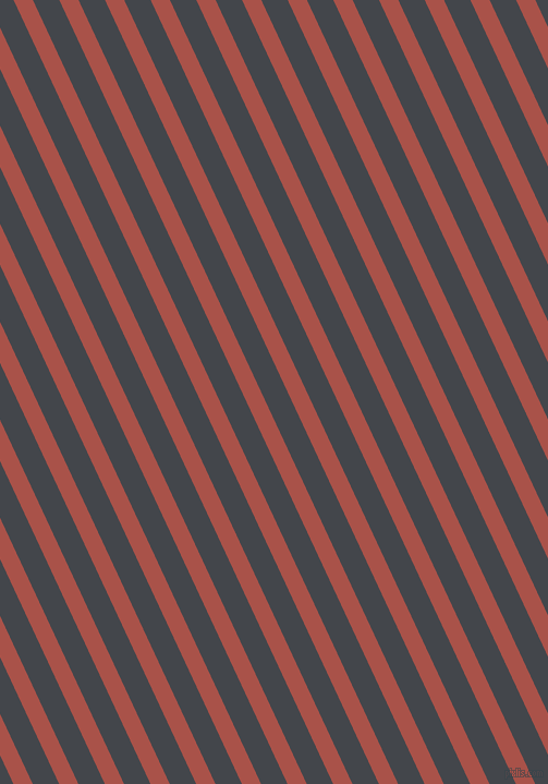 115 degree angle lines stripes, 16 pixel line width, 22 pixel line spacing, Apple Blossom and Steel Grey angled lines and stripes seamless tileable
