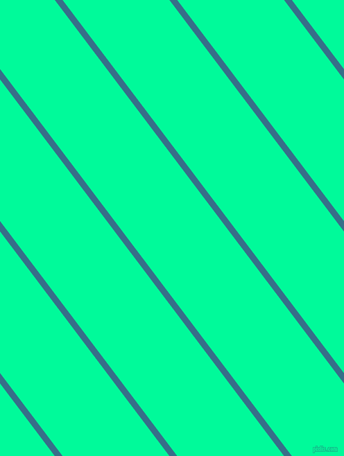 127 degree angle lines stripes, 9 pixel line width, 123 pixel line spacing, Astral and Medium Spring Green angled lines and stripes seamless tileable