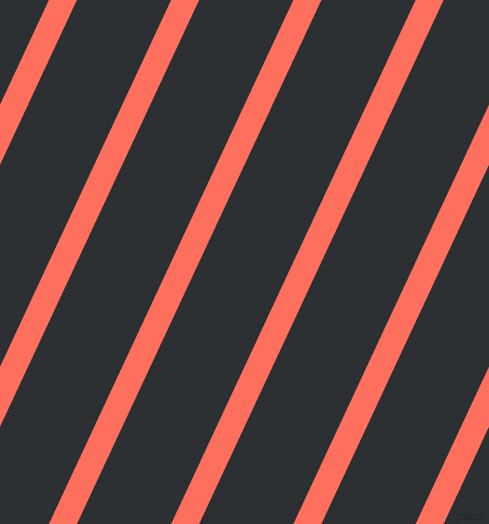 65 degree angle lines stripes, 36 pixel line width, 121 pixel line spacing, Bittersweet and Cod Grey angled lines and stripes seamless tileable