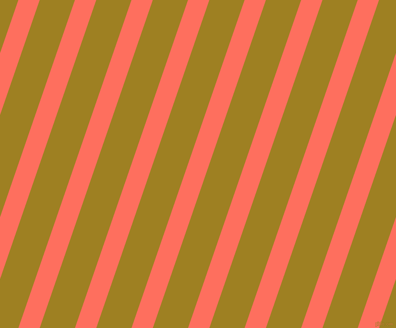 71 degree angle lines stripes, 40 pixel line width, 66 pixel line spacing, Bittersweet and Hacienda angled lines and stripes seamless tileable