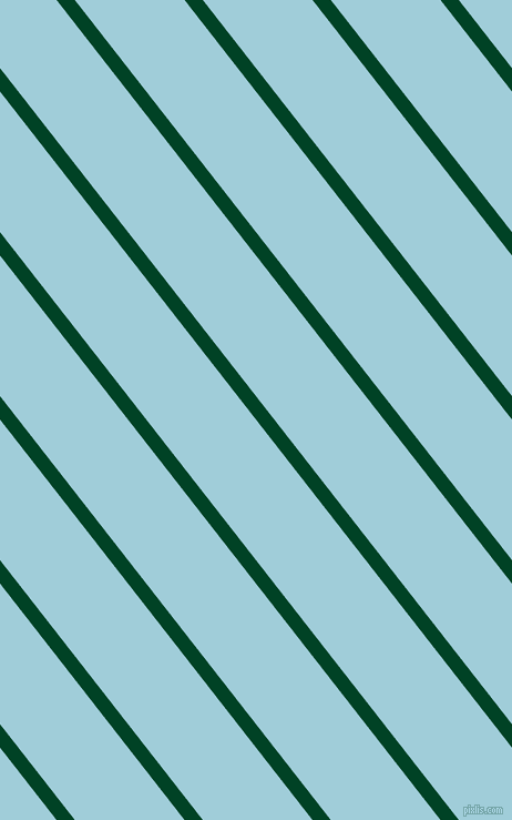 128 degree angle lines stripes, 13 pixel line width, 78 pixel line spacing, British Racing Green and Regent St Blue angled lines and stripes seamless tileable