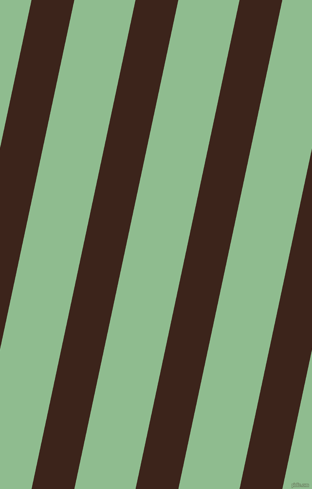 78 degree angle lines stripes, 86 pixel line width, 123 pixel line spacing, Brown Pod and Dark Sea Green angled lines and stripes seamless tileable