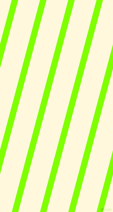 75 degree angle lines stripes, 21 pixel line width, 71 pixel line spacing, Chartreuse and Corn Silk angled lines and stripes seamless tileable