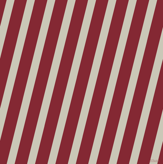 76 degree angle lines stripes, 27 pixel line width, 42 pixel line spacing, Chrome White and Shiraz angled lines and stripes seamless tileable