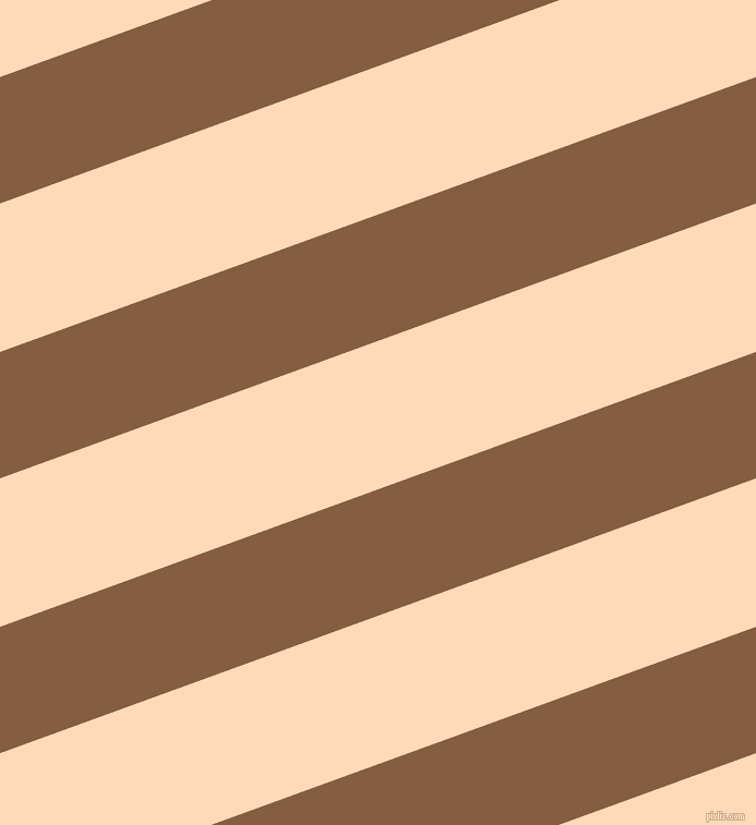 20 degree angle lines stripes, 109 pixel line width, 128 pixel line spacing, Dark Wood and Peach Puff angled lines and stripes seamless tileable