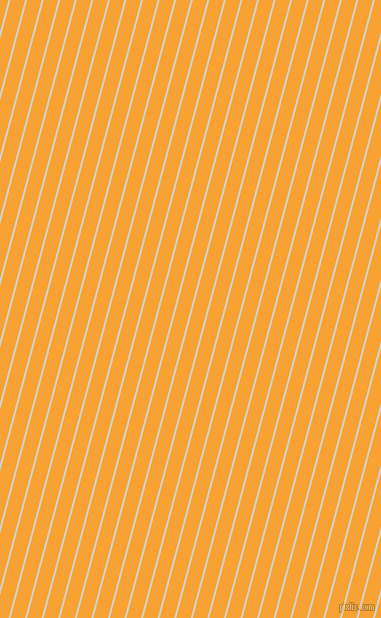 75 degree angle lines stripes, 2 pixel line width, 14 pixel line spacing, Ecru White and Lightning Yellow angled lines and stripes seamless tileable