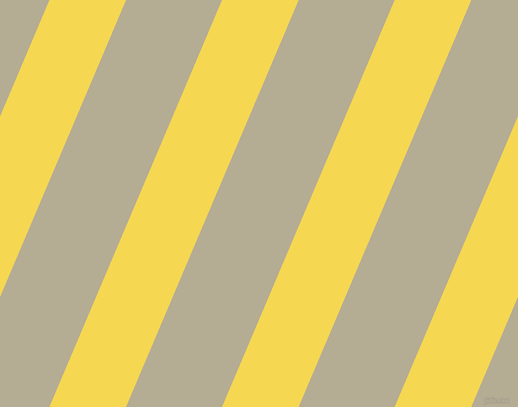 67 degree angle lines stripes, 99 pixel line width, 124 pixel line spacing, Energy Yellow and Bison Hide angled lines and stripes seamless tileable