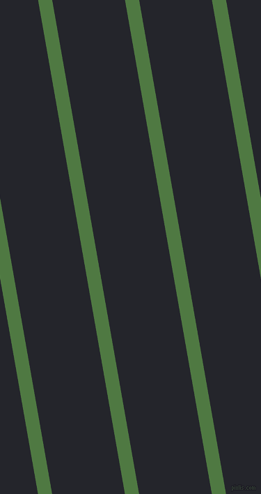 100 degree angle lines stripes, 20 pixel line width, 103 pixel line spacing, Fern Green and Black Russian angled lines and stripes seamless tileable