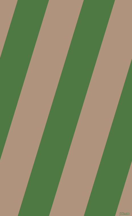 73 degree angle lines stripes, 105 pixel line width, 117 pixel line spacing, Fern Green and Sandrift angled lines and stripes seamless tileable