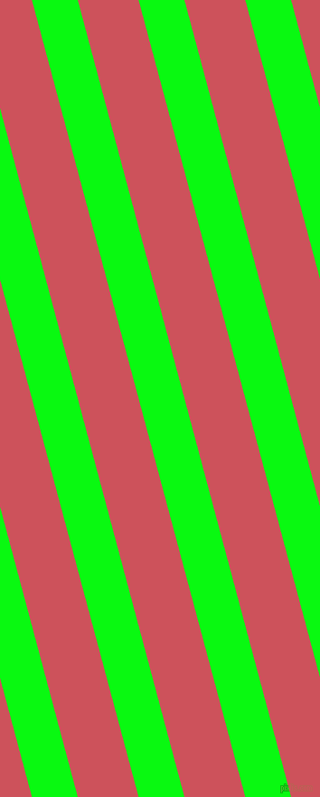 105 degree angle lines stripes, 49 pixel line width, 65 pixel line spacing, Free Speech Green and Mandy angled lines and stripes seamless tileable