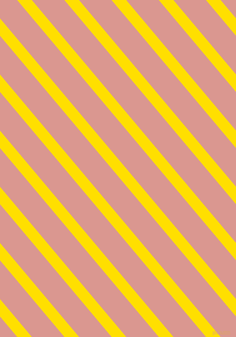 130 degree angle lines stripes, 23 pixel line width, 51 pixel line spacing, Golden Yellow and Petite Orchid angled lines and stripes seamless tileable