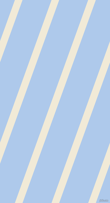 70 degree angle lines stripes, 29 pixel line width, 110 pixel line spacing, Half Pearl Lusta and Tropical Blue angled lines and stripes seamless tileable