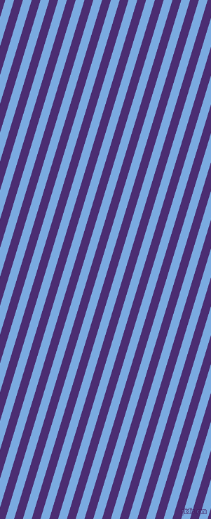 73 degree angle lines stripes, 12 pixel line width, 12 pixel line spacing, Jordy Blue and Blue Diamond angled lines and stripes seamless tileable