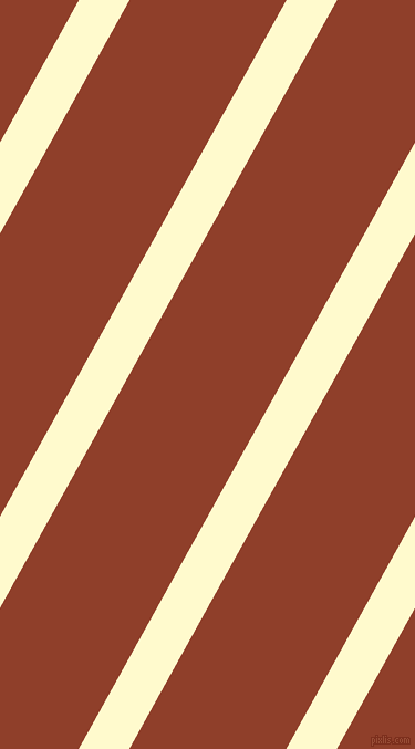 61 degree angle lines stripes, 40 pixel line width, 124 pixel line spacing, Lemon Chiffon and Fire angled lines and stripes seamless tileable