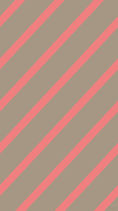 47 degree angle lines stripes, 26 pixel line width, 73 pixel line spacing, Light Coral and Malta angled lines and stripes seamless tileable