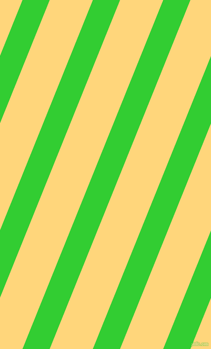 68 degree angle lines stripes, 51 pixel line width, 81 pixel line spacing, Lime Green and Salomie angled lines and stripes seamless tileable