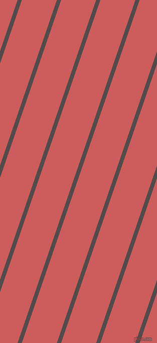 71 degree angle lines stripes, 8 pixel line width, 66 pixel line spacing, Matterhorn and Indian Red angled lines and stripes seamless tileable