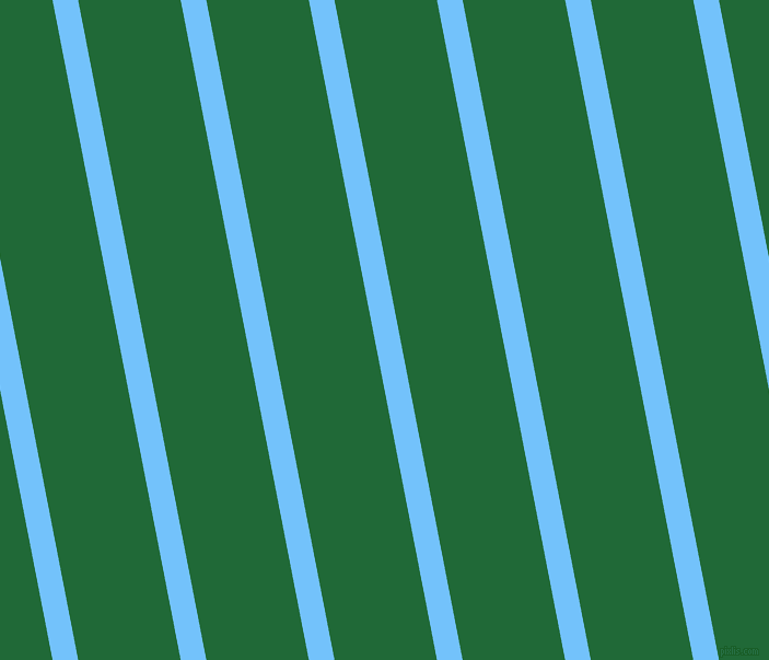 101 degree angle lines stripes, 23 pixel line width, 92 pixel line spacing, Maya Blue and Camarone angled lines and stripes seamless tileable