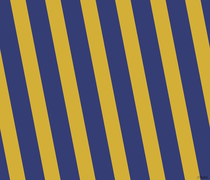 101 degree angle lines stripes, 51 pixel line width, 64 pixel line spacing, Metallic Gold and Torea Bay angled lines and stripes seamless tileable