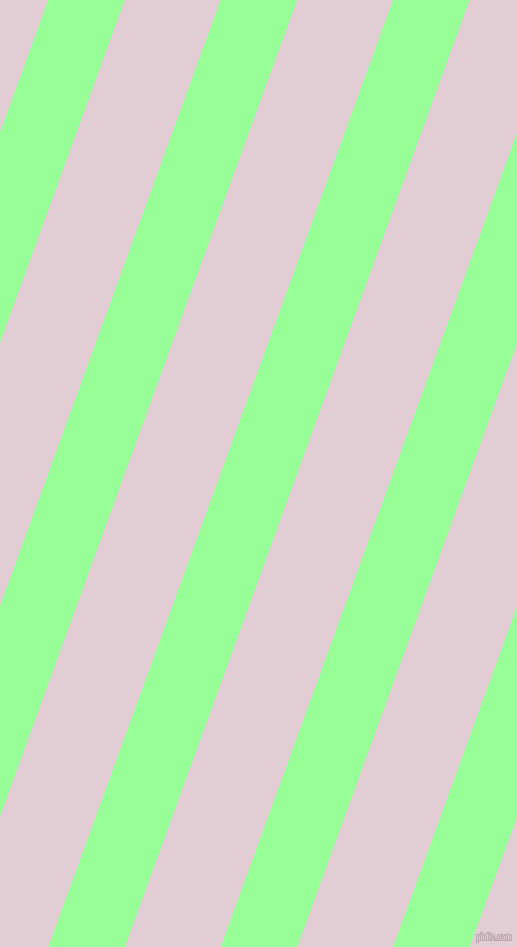 70 degree angle lines stripes, 72 pixel line width, 90 pixel line spacing, Mint Green and Prim angled lines and stripes seamless tileable