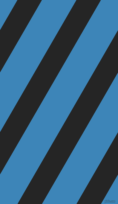 60 degree angle lines stripes, 71 pixel line width, 100 pixel line spacing, Nero and Curious Blue angled lines and stripes seamless tileable