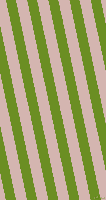 102 degree angle lines stripes, 34 pixel line width, 38 pixel line spacing, Olive Drab and Oyster Pink angled lines and stripes seamless tileable