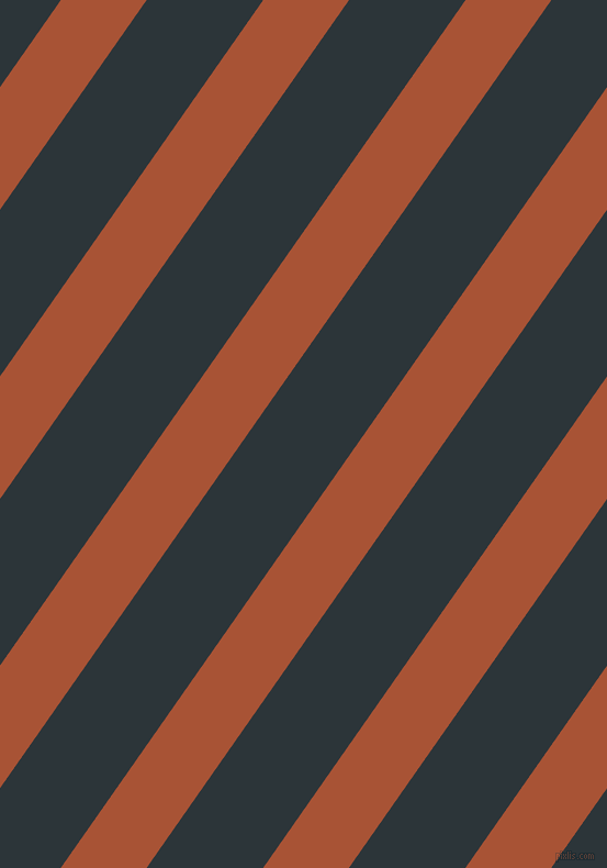 55 degree angle lines stripes, 64 pixel line width, 87 pixel line spacing, Orange Roughy and Gunmetal angled lines and stripes seamless tileable