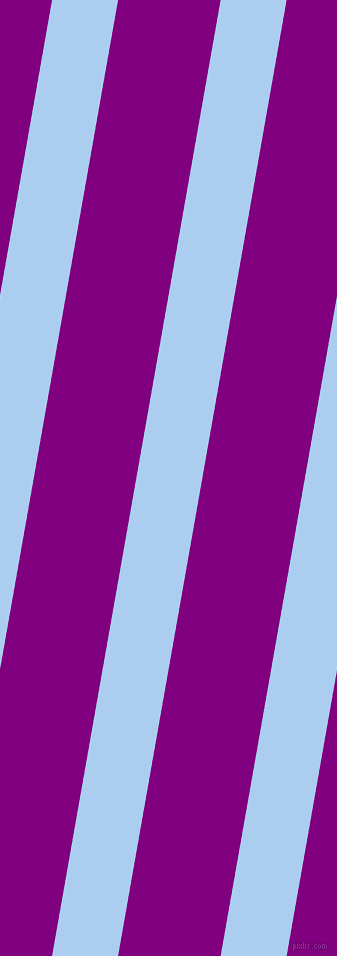 80 degree angle lines stripes, 65 pixel line width, 101 pixel line spacing, Pale Cornflower Blue and Purple angled lines and stripes seamless tileable