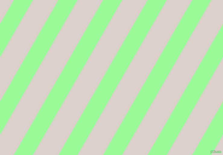 60 degree angle lines stripes, 55 pixel line width, 73 pixel line spacing, Pale Green and Swiss Coffee angled lines and stripes seamless tileable