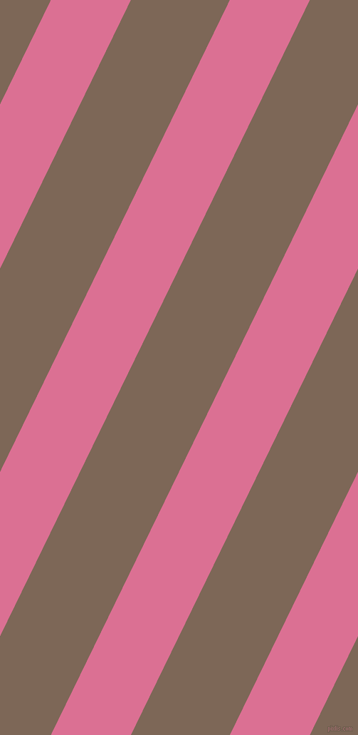 64 degree angle lines stripes, 101 pixel line width, 125 pixel line spacing, Pale Violet Red and Roman Coffee angled lines and stripes seamless tileable