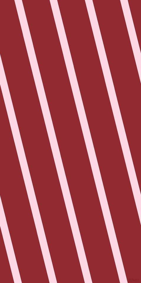 104 degree angle lines stripes, 25 pixel line width, 91 pixel line spacing, Pig Pink and Bright Red angled lines and stripes seamless tileable
