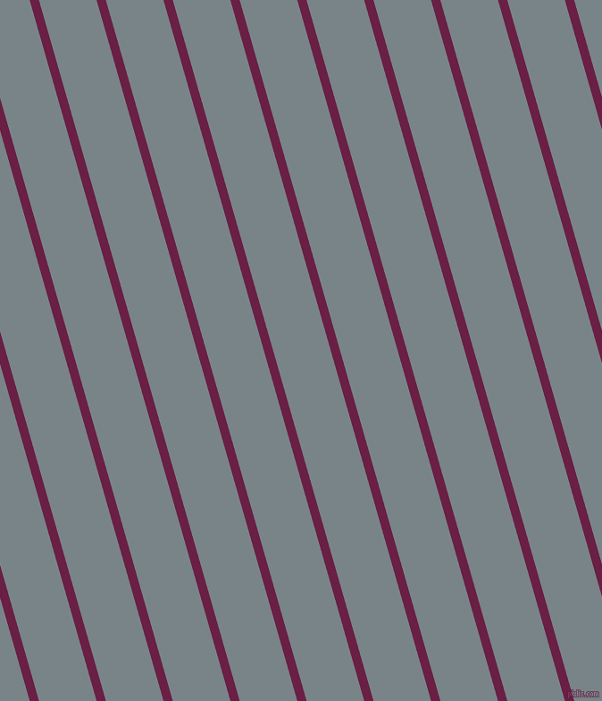 106 degree angle lines stripes, 10 pixel line width, 62 pixel line spacing, Pompadour and Regent Grey angled lines and stripes seamless tileable