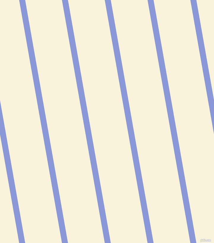 100 degree angle lines stripes, 20 pixel line width, 122 pixel line spacing, Portage and Off Yellow angled lines and stripes seamless tileable