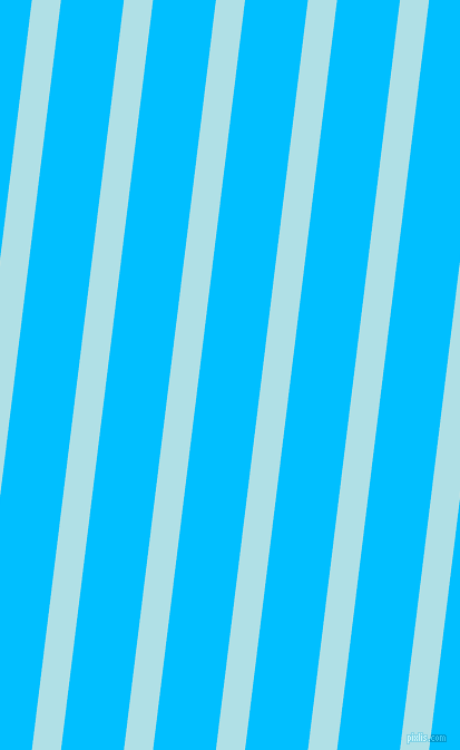 83 degree angle lines stripes, 26 pixel line width, 56 pixel line spacing, Powder Blue and Deep Sky Blue angled lines and stripes seamless tileable