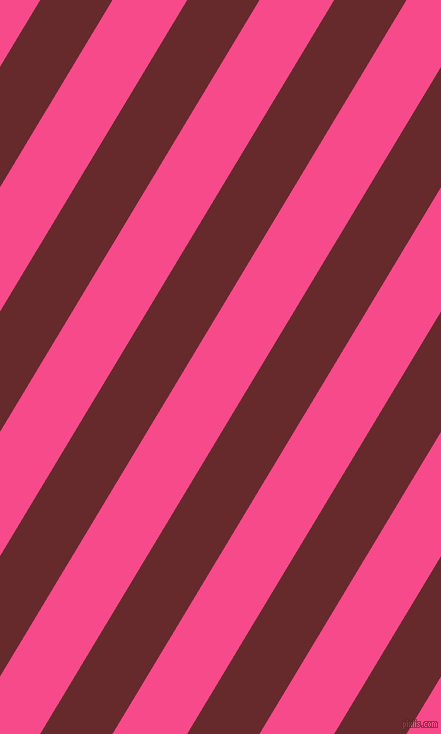 59 degree angle lines stripes, 62 pixel line width, 64 pixel line spacing, Red Devil and French Rose angled lines and stripes seamless tileable
