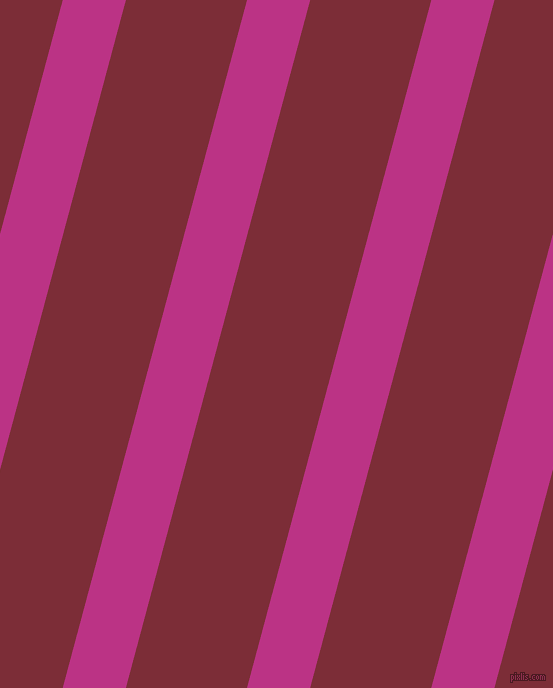 75 degree angle lines stripes, 61 pixel line width, 117 pixel line spacing, Red Violet and Paprika angled lines and stripes seamless tileable