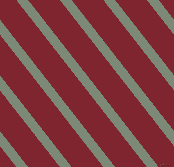 128 degree angle lines stripes, 32 pixel line width, 86 pixel line spacing, Spanish Green and Scarlett angled lines and stripes seamless tileable