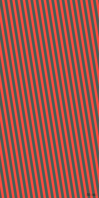 99 degree angle lines stripes, 8 pixel line width, 9 pixel line spacing, Sunset Orange and Viridian Green angled lines and stripes seamless tileable