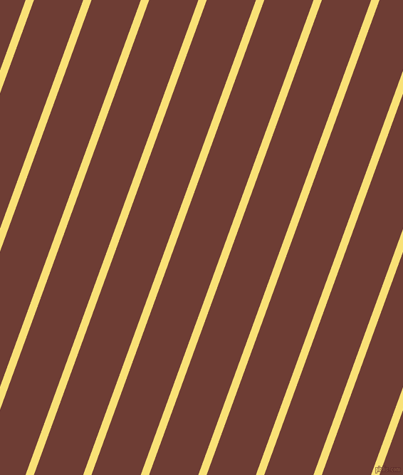 70 degree angle lines stripes, 11 pixel line width, 65 pixel line spacing, Sweet Corn and Metallic Copper angled lines and stripes seamless tileable