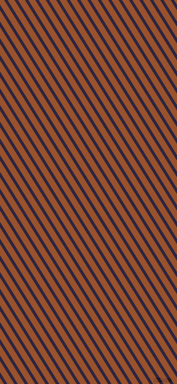 122 degree angle lines stripes, 6 pixel line width, 12 pixel line spacing, Tolopea and Hawaiian Tan angled lines and stripes seamless tileable