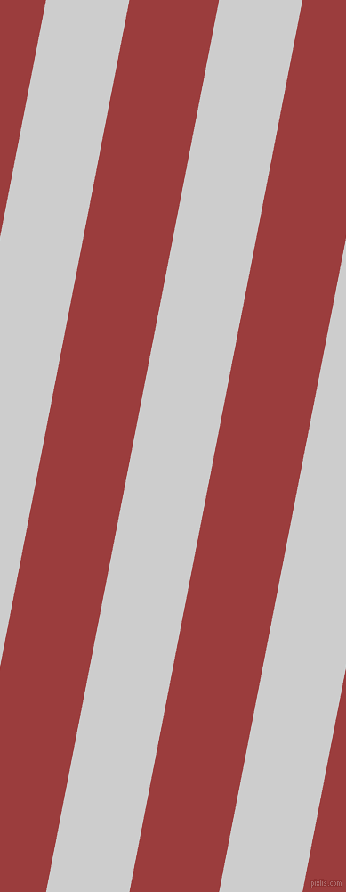 79 degree angle lines stripes, 92 pixel line width, 99 pixel line spacing, Very Light Grey and Mexican Red angled lines and stripes seamless tileable