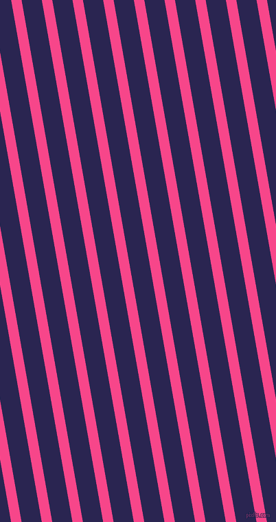 100 degree angle lines stripes, 15 pixel line width, 29 pixel line spacing, Violet Red and Paua angled lines and stripes seamless tileable