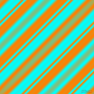 Aqua and Dark Orange beveled plasma lines seamless tileable