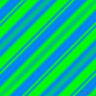 Dodger Blue and Lime beveled plasma lines seamless tileable