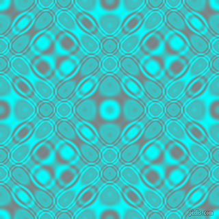 , Aqua and Grey cellular plasma seamless tileable