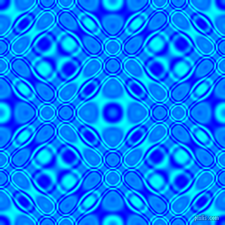 , Blue and Aqua cellular plasma seamless tileable