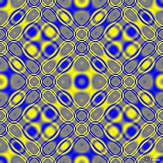 , Blue and Yellow cellular plasma seamless tileable