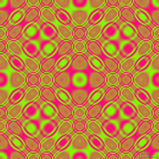 , Chartreuse and Deep Pink cellular plasma seamless tileable