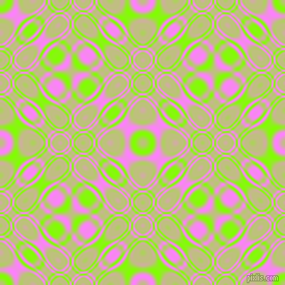 , Chartreuse and Fuchsia Pink cellular plasma seamless tileable