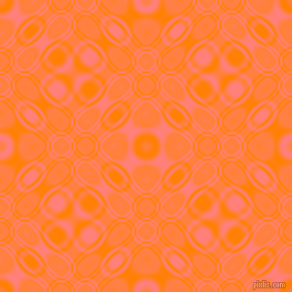 Dark Orange and Salmon cellular plasma seamless tileable